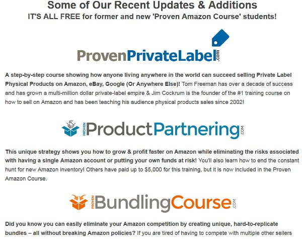 proven-amazon-course-latest-additions