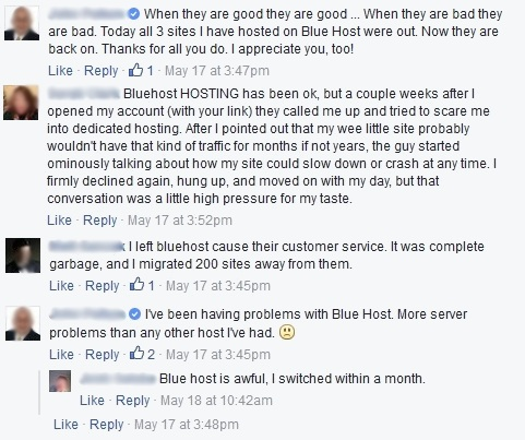 bluehost-issues